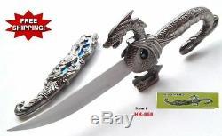 10 Fantasy Dragon Dagger Blade Knife Sword