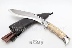 10 Hand Forged Blade Gurkha Service Khukuri Knife Dagger Full Tang