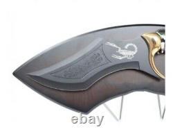 13.7 Fantasy Scorpio Scorpion Dagger Blade Knife Sword and Display Plaque