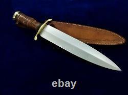 16.4 SEO Custom Handmade D2 Tool Steel Dagger Blade Hunting Bowie Knife