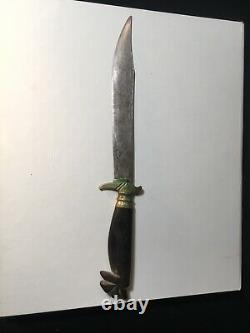 1945 WWII PHILIPPINES WW2 BOLO BOWIE KNIFE DAGGER 6 Blade Rare