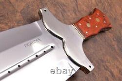21.4ozair Custom D2 Steel Mirror Polish Fulltang Beast Dagger Blade Knife 8281