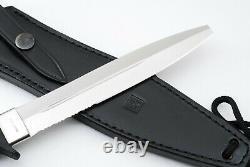 AL MAR KNIVES Platoon Dagger (L) Blade shape correction model