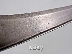 ANTIQUE ISLAMIC DAGGER INDO PERSIAN Central Asia Bukhara knife sword WOOTZ BLADE
