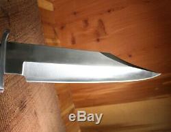 Al Mar 4009 Bowie Alaskan Dagger Knife Coffin Handle 12 Blade Mint