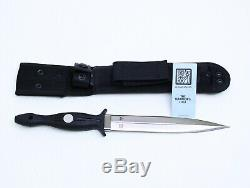 Al Mar Shadow Fighting Combat Knife 7.5 Blade Spear Point Dagger Seki Japan