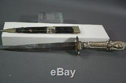 Antique Maltese Blade/Sicily/Italy Prostituta Stiletto Knife/Letter Opener &case