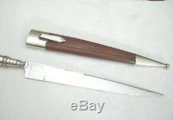 Antique, Vintage F. HERDER ABR. SOHN SOLINGEN DAGGER Knife Vendetta 7 1/4 blade