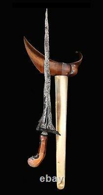 Antique keris kris Indonesian Javanese sword knife blade dagger