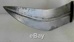 Authentic Antique Arab Silver dagger knife Janbiya blade hand made Yemen Oman