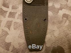 Boker Knife Applegate Fairbairn Fixed Blade Combat Dagger 17817 German Sheath