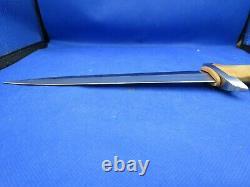 Boker Tree Swiss Dagger Fixed Blade Knife Cherry Wood (8.50 Satin) 121550 NEW