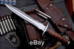 CFK Custom Handmade D2 US ARMY RANGER Combat Dagger Military Blade Knife