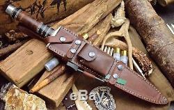 CFK USA Custom Handmade Full-Tang D2 17-Inch Toothpick Combat Blade Dagger Knife