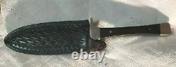 Case XX USA 1982 BOOT HUNTER Fixed Blade Knife WithOriginal Case XX Leather Sheath