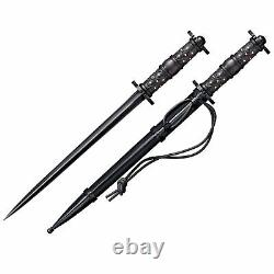 Cold Steel 88HRDL 16.5-Inch Long Historical Rondel Straight Pointed Dagger