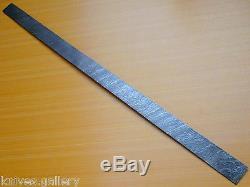 Custom Damascus Steel Billet / Hunting Knife / Dagger / Sword / Blank Blade 25
