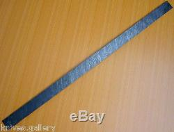 Custom Damascus Steel Billet / Hunting Knife / Dagger / Sword / Blank Blade 30