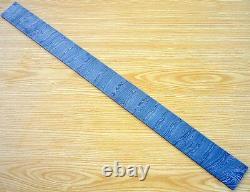 Custom Damascus Steel Billet / Hunting Knife / Dagger / Sword / Blank Blade 30l