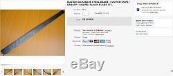 Custom Damascus Steel Billet / Hunting Knife / Dagger / Sword / Blank Blade 35l