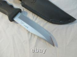 Cutco Knife 5719 JI Olean NY Fixed Blade Knife Clip Point Belt Sheath Hunting