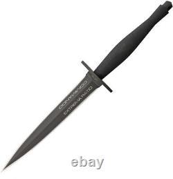 Extrema Ratio Black ER Commando N690 Steel Double Edge Fixed Blade Knife 315COMM