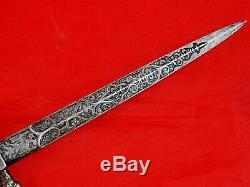 FINEST ANTIQUE FIGURAL STEEL IRON DAGGER KNIFE EROTICA SEX MOTIF sword blade 19c