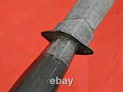 FINE ANTIQUE LUZON FILIPINO DAGGER KNIFE Philippines Spanish Style Blade Sword