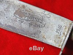 Fine Quality Bowie Knife Hunting Dagger Richly Decorated Grip Superb Blade