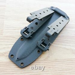 Fox Arditi Fixed Knife Bohler Dagger N690 Steel 6.88 Blade Black G10 Handle 595