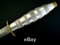 German Boot Knife Dagger PUMA Solingen Etched Blade RARE
