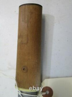 Harikari Samurai Japanese Dagger Tanto Sword Knife Horimono Carving Blade #c25