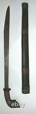 Indonesian Balinese Bali Knife Dagger Sword Silat Blade Sheath