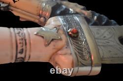 Islamic Khanjar Dagger Double Blade Arabic Handmade Knife
