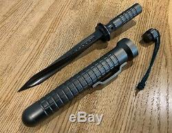 JAGDKOMMANDO Knife Triple Twisted Tri Edge Dagger Special Force Fixed Blade