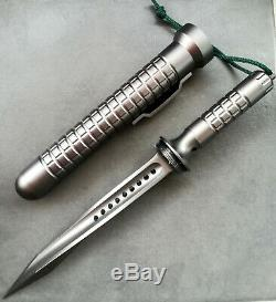 Jagdkommando Knife Fixed Blade Tri 3 Blade Dagger Paratrooper