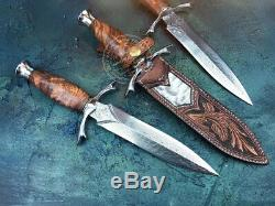 Japanese Vg10 Outdoor Survival Army Hunting Knife Sword Dagger Fixed Blade Tool