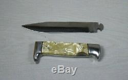 Large Vintage Rare Collectible Dagger Knife 2 Parts Detachable Blade Military