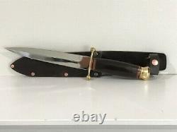 Linder Dagger Knife 6 Blade Solingen Germany Stainless Inox Rostfrei