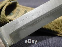 MINT WWII US M3 IMPERIAL Trench Fighting Knife Dagger Blade Mark with M8