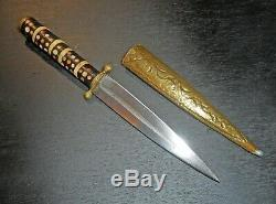 Old Persan Dagger With Right Blade, Circa 1930, Syrian Knife