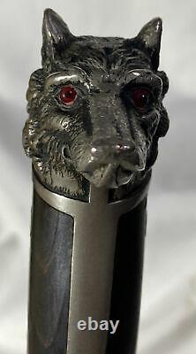 RARE! Collins & Co. Lobo (Wolfs Head) Pommel 7 3/8 Blade Knife Legitimus #86
