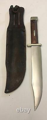 RARE Northfield Un-X-Ld Vintage American Large Bowie Style Knife 9 Blade