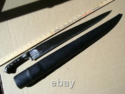 Rare! Original Islamic Afghan Khyber Knife Straight Blade Short Sword Dagger
