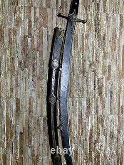 Russian Caucasian Dagger Kindjal Knife Sword Shamshir Shashka Damascus blade