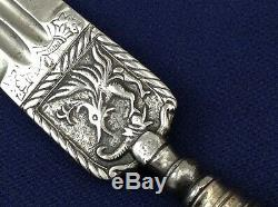 State Of The Art Italian 18th Century Peasant Knife Dagger With Nice Blade