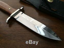 Steve Voorhis custom fixed blade knife dagger