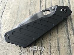 Strider Knives SNG Thick Dagger Grind Tiger Stripe CPM 20CV Blade