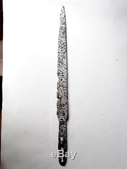 Superb Middle Age Iron Dagger 12/14 Th Century Blade Knife South Germany 39cm