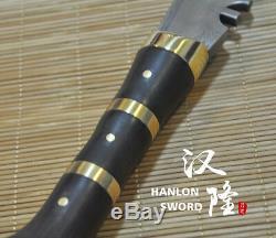 Top Quality Gurkha Sword Handmade Kukri Damascus Blade Dagger Curved Nepal Knife